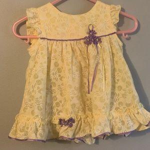 Rare Editions Dress w/ Bonnet